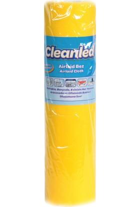 Cleanled Renkli Bez Havlu