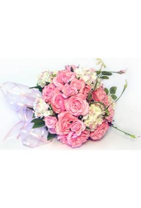 Gelin El Çiçeği Pembe Güller