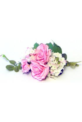 Damat Yaka Çiçeği Pembe Güller