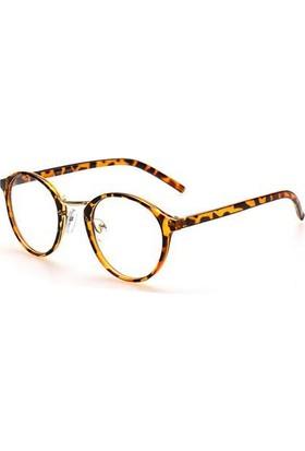 Fevale Leopar Desenli Gözlük