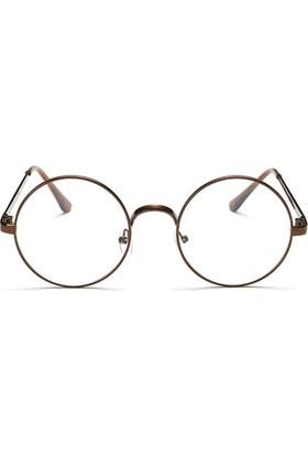 Fevale Kahverengi Retro Gözlük
