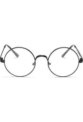 Fevale Siyah Retro Gözlük