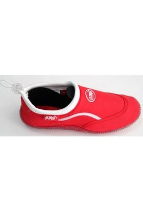Ahs Kırmızı - Beyaz Deniz Ayakkabısı