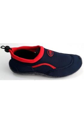 Ahs Lacivert - Kırmızı Deniz Ayakkabısı