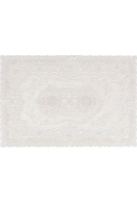 Madame Coco 4'Lü Amerikan Servis Vinil Dikdörgen 30 x 45 cm