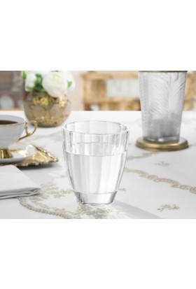 Madame Coco Fıona Kristal 4'Lü Su Bardağı - Std