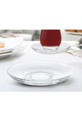 Madame Coco Opaline- 6'Lı Çay Tabağı Seti - Std