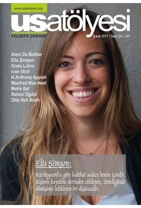 Us Atölyesi: Felsefe Dergisi Sayı 24