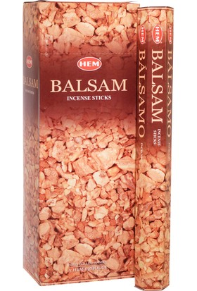 Hem Balsam Tütsü 20 Çubuk - Hem Balsam Hexa