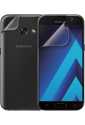 Microsonic Samsung Galaxy A7 2017 Ön + Arka Kavisler Dahil Tam Ekran Kaplayıcı Film