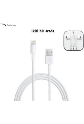 Case Leap iPhone 5/5s/5c/Se Lightning Usb Data ve Şarj Kablosu (iOS 10.1.1 Destekli)