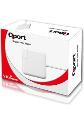Qport Q-MCS185 Mac Adaptörü 18.5V 4.6A 85W Pro17 MAGSAFE1