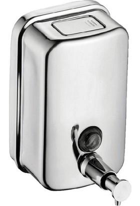 Bauboss Dikey Sıvı Sabunluk 500 Ml. 304 Kalite Paslanmaz Çelik