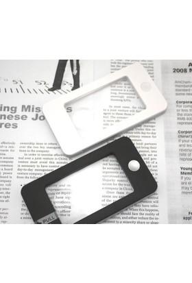 Enhavalı Iphone Modelinde 2.5X5X Odaklı Büyüteç