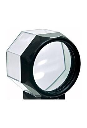 Enhavalı Akvaryum Modelinde 5X Işıklı Büyüteç-9001