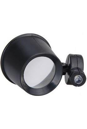 Enhavalı Işıklı Büyüteç Gözlük 10X-Th-9001