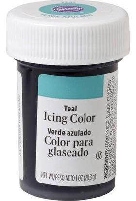 Wilton Jel Gıda Boyası Cam Göbeği Rengi (Teal) (28.3 Gr)