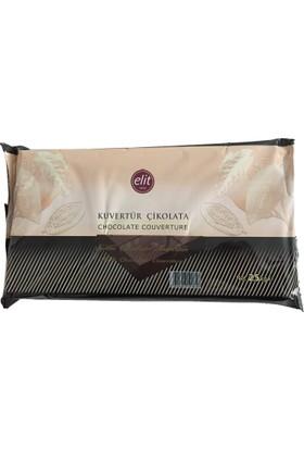 Elitparti Elit Kuvertür Sütlü Çikolata (2.5 Kg)