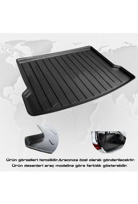 Z Tech Dacia Lodgy 2013 Sonrası Ekolojik 3D Bagaj Havuzu