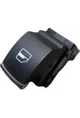 Wolcar Volkswagen Jetta 2011 > Cam Düğmesi Tekli Krom Orjinal