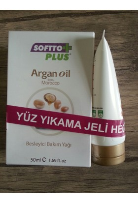 Softto Plus Argan Yağı + Jel