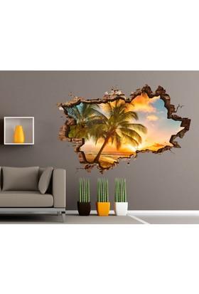 3D Art Tropik Ada – 3D Sticker 150x100 cm