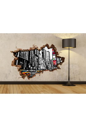 3D Art Manhattan 2 – 3D Sticker 70x45 cm