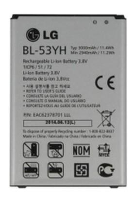 Kvy Lg G3 Batarya Pil Bl53Yh