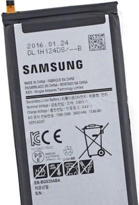 Kvy Samsung Galaxy S7 Edge Batarya
