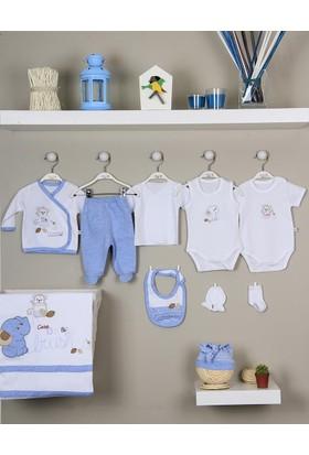 İmaj Erkek Bebek Hastane Çıkışı Yeni Doğan Seti Antialerjik 10 Lu 161 Filli İmaj
