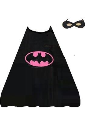 Partypark Batman Pelerin Maskesi-Pembe (5 - 12 Yaş)