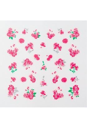 Missha Water Free Decal Nail Sticker (Flower Bouquet)