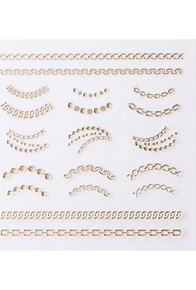 Missha Lovely Nail Design Sticker (Classic Chain)