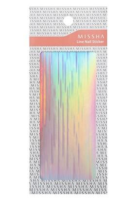 Missha Line Nail Sticker (Hologram)