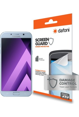 Dafoni Samsung Galaxy A3 2017 Darbe Emici Full Ekran Koruyucu Film