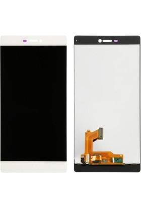 Casecrown Huawei P8 Ekran Dokunmatik - Beyaz