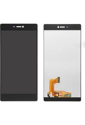 Casecrown Huawei P8 Ekran Dokunmatik - Siyah