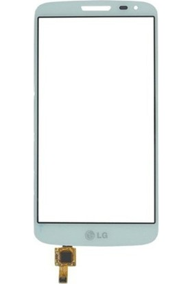 Casecrown LG G3 Dokunmatik Lens Beyaz
