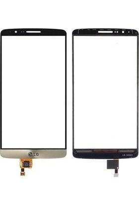 Casecrown LG G3 Dokunmatik Lens Gold