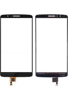 Casecrown LG G3 Dokunmatik Lens Siyah