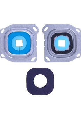 Casecrown Samsung Galaxy A8 A800 Orj Kamera Lens - Gümüş