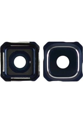 Casecrown Samsung Galaxy S6+ Edge Plus G928 Orj Kamera Lens - Lacivert