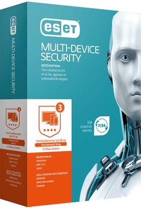 Eset Multi Device Security V10 - 3 Kullanıcı Kutu EMD3