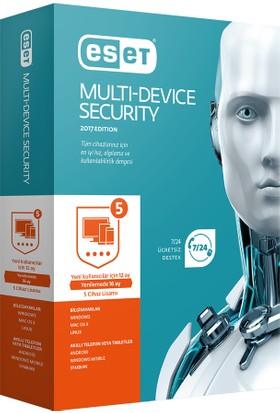 Eset Multi Device Security V10 - 5 Kullanıcı Kutu EMD5