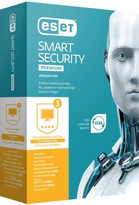 Eset Smart Security Premium V10 - 1 Kullanıcı Kutu ESS1