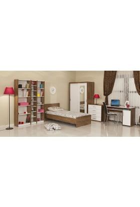 Mobetto Cool Large Genç Odası Sümela Beyaz