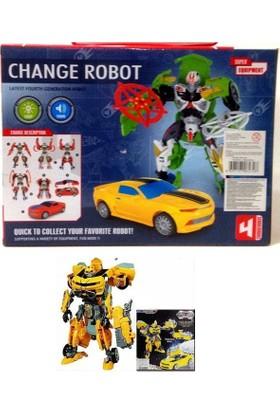 İnci Toys Dönüşebilen Sesli Robot 2328