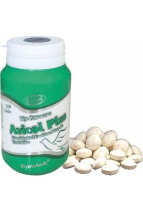 Biyoteknik Biyo Powercure Avicol Plus Güvercinlerde üreme ve Yarışmalar İçin Vitamin 120 Tablet
