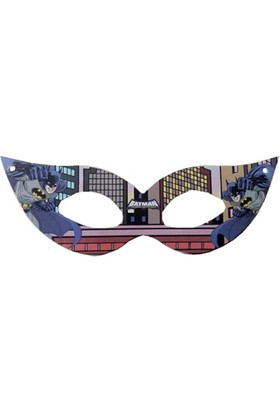 Partypark Batman Maske (8 Adet)
