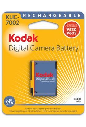 Kodak Klıc-7002 Klıc7002 V630 V603 V530 Pil Batarya